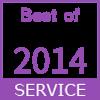 2014年度最佳服務徽章